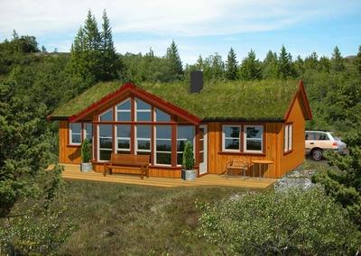 Bygge tilbygg på hytte